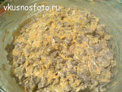 салат с сердцем рецепт