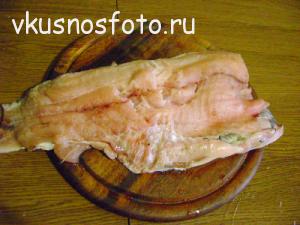 толстолобик запеченный в духовке