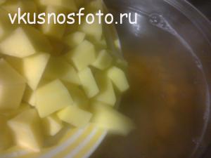 суп с фасолью фото