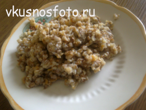 гречка с мясом рецепт