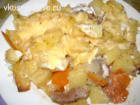 вкусная картошка в духовке