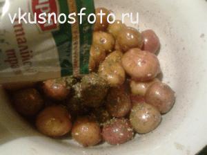 что приготовить из мелкой картошки