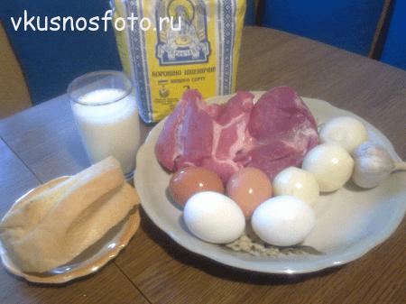 котлеты фаршированные яйцом