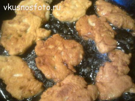 куриные отбивные фото рецепт
