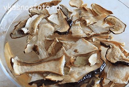 щи с  грибами
