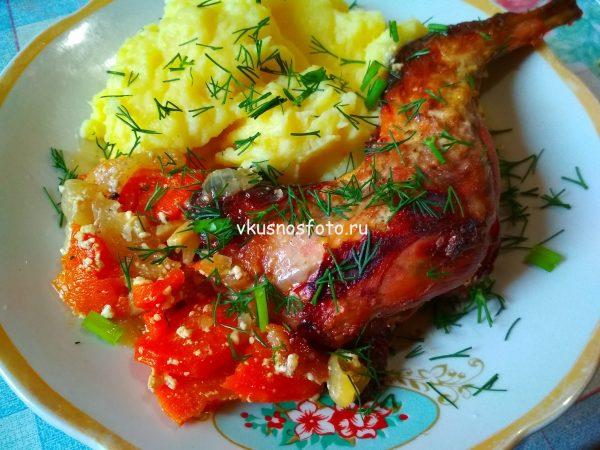 Кролик в сметане духовке рецепт с фото.