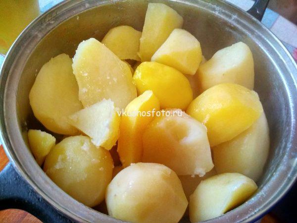 Картофельные крокеты рецепт с фото.