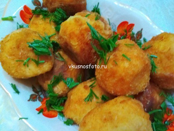 Крокеты картофельные
