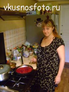 Вкусно с фото, хозяйка блога Елена Самолкина
