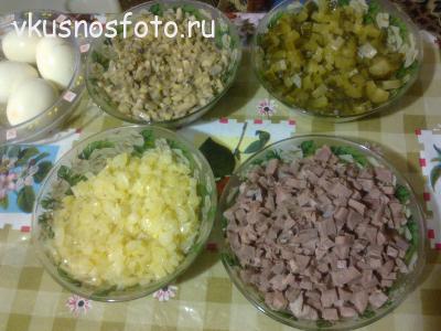салат со свиным языком