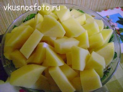 суп из красной рыбы картофель