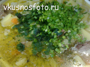 Тушёная картошка  со свиными рёбрышками