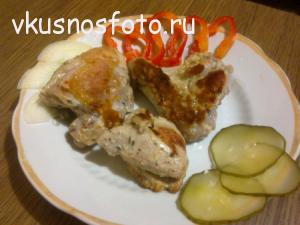 курица в медовом соусе