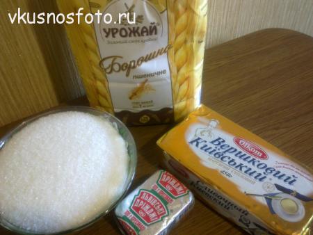 сахарное печенье рецепт