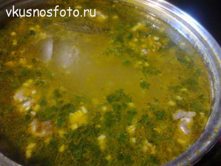 суп из кролика