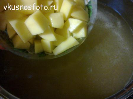 приготовления супа с потрохами