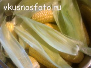 как отварить кукурузу