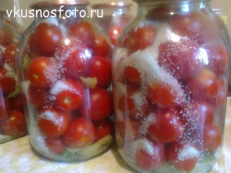 консервация помидор