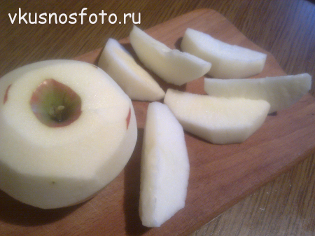 лёгкий яблочный пирог