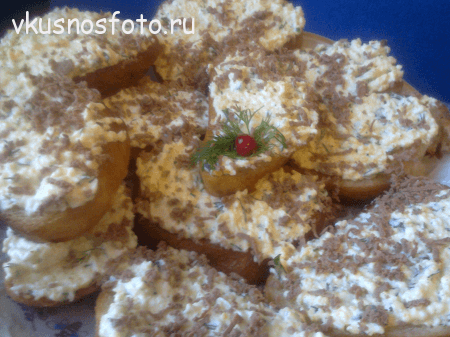 Рецепт гренок с яйцом