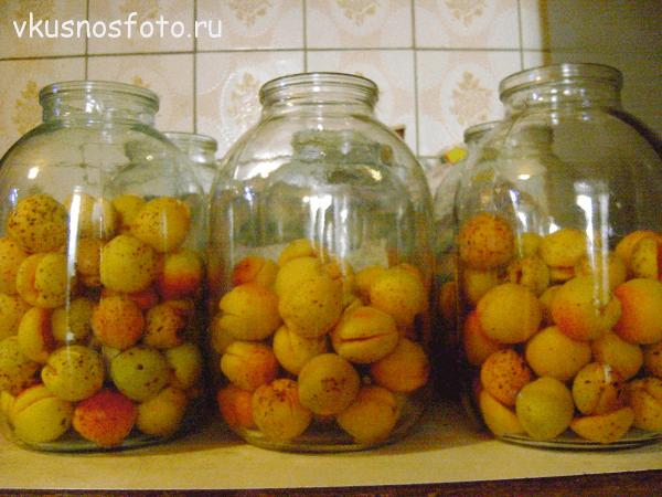 компот из абрикос на зиму