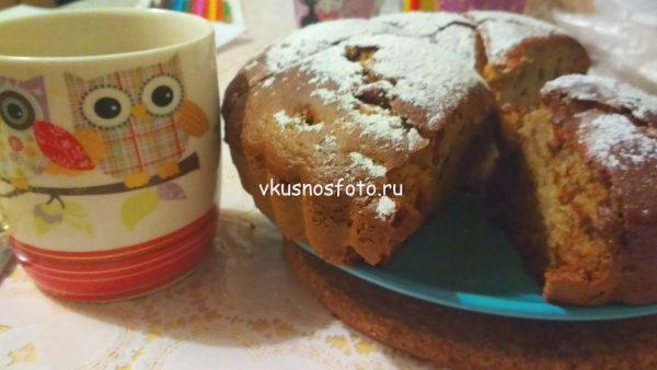 Пирог на кефире с вареньем фото рецепт