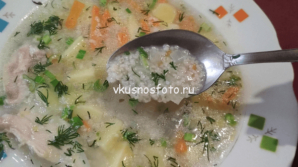 Суп с ячневой крупой рецепт