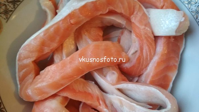 брюшки лосося